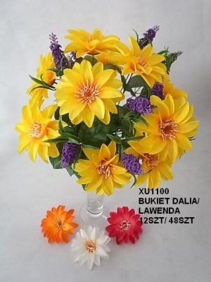BUKIET DALIA/ LAWENDA