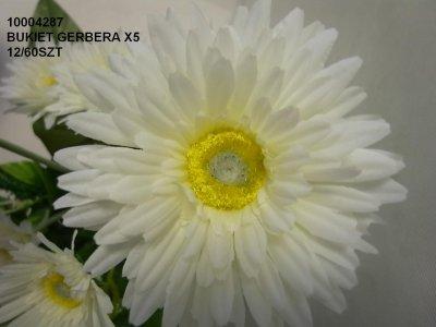BUKIET GERBERA X5
