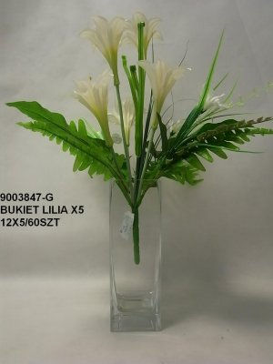 BUKIET LILIA X5