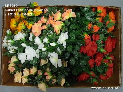 bukiet róża perfumowana