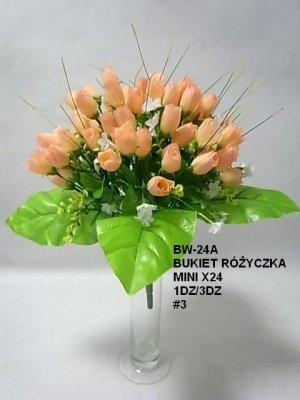 BUKIET RÓŻYCZKA MINI X24