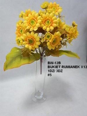 BUKIET RUMIANEK X12