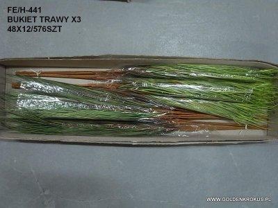 bukiet trawy x 3