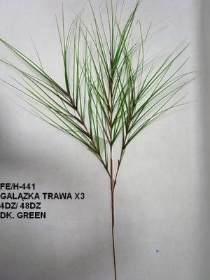 GAŁĄZKA TRAWA X3